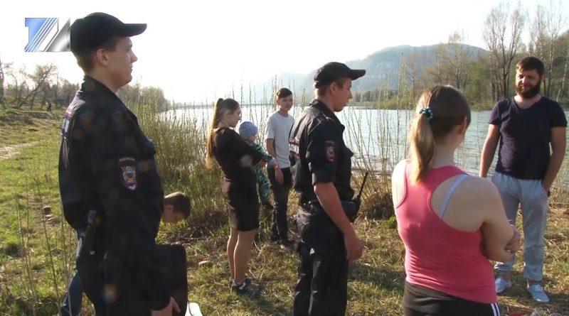 Сотрудники полиции провели рейд на дамбе