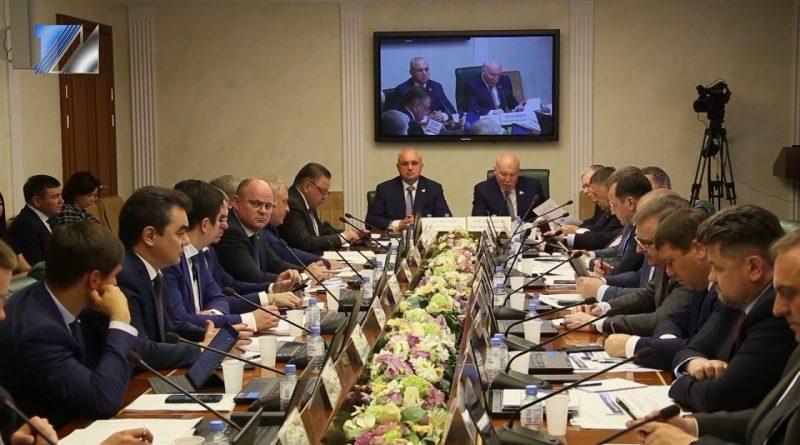 Губернатор С. Цивилёв представил Кузбасс в Совете Федерации