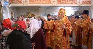 Епископ Новокузнецкий и Таштагольский Владимир совершил Божественную литургию