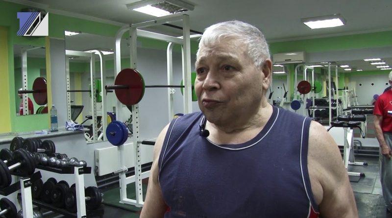 Мировой рекорд по поднятию тяжестей в 80 лет