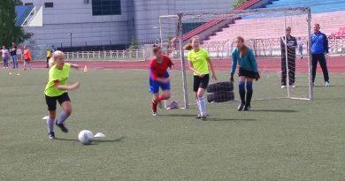 Прошёл II фестиваль женского футбола