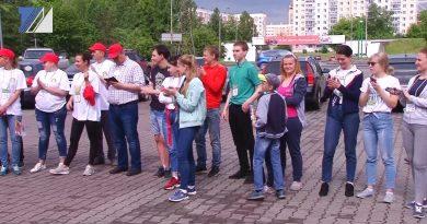 В Междуреченске прошёл автоквест «Прошагай город»