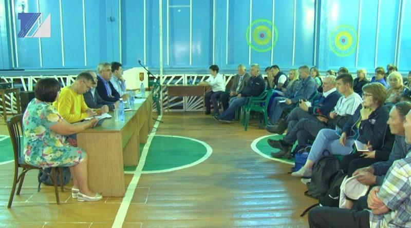 Команда администрации посетила Тебу